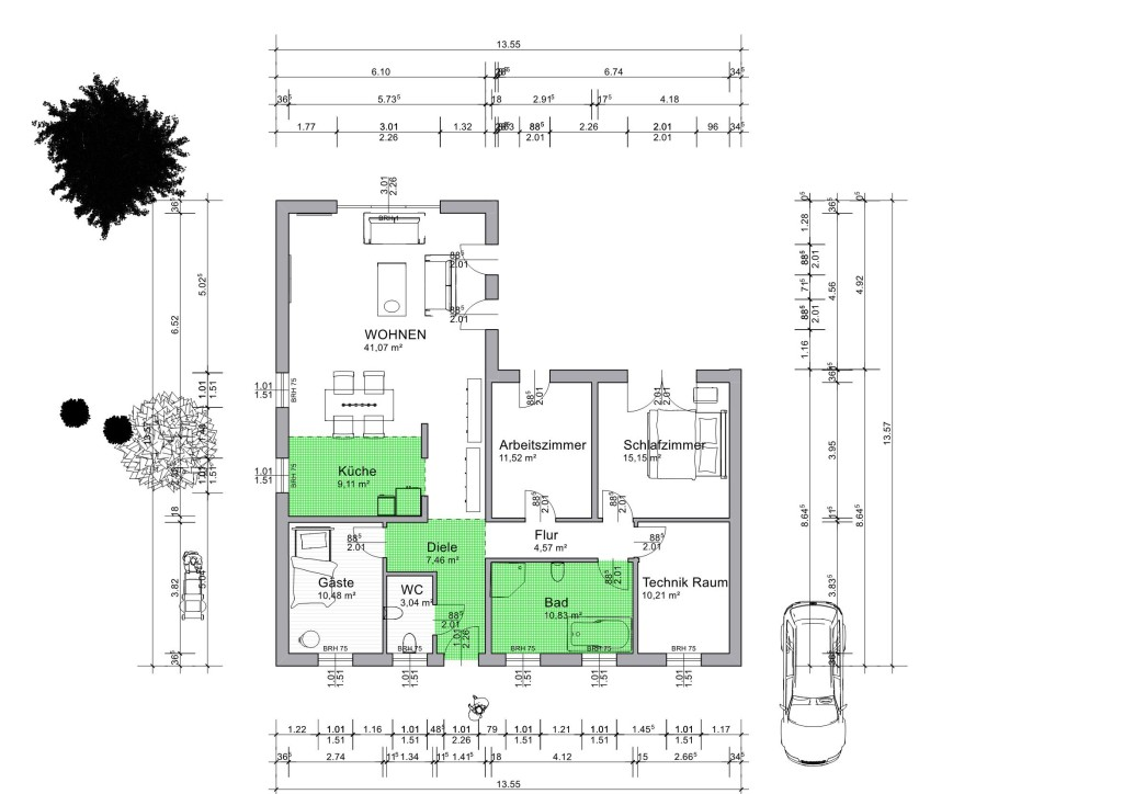 Bautagebuch Danwood, wir bauen ein Dan-Wood Perfect 124