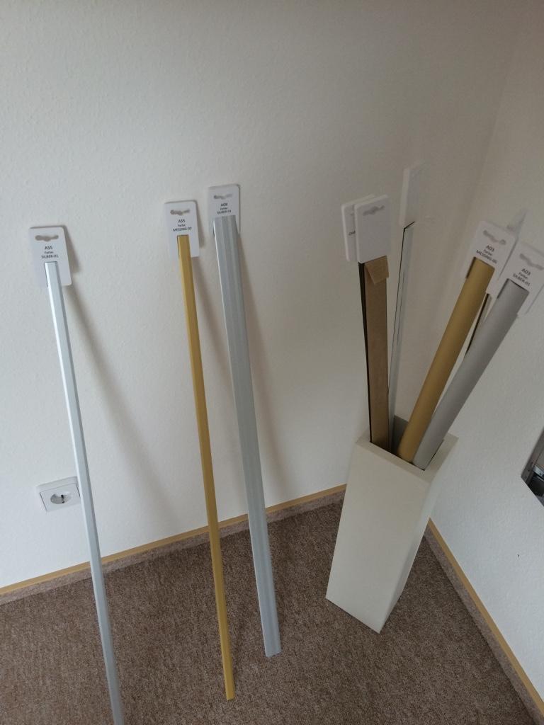 Übergangsleisten, Fußbodenleisten
