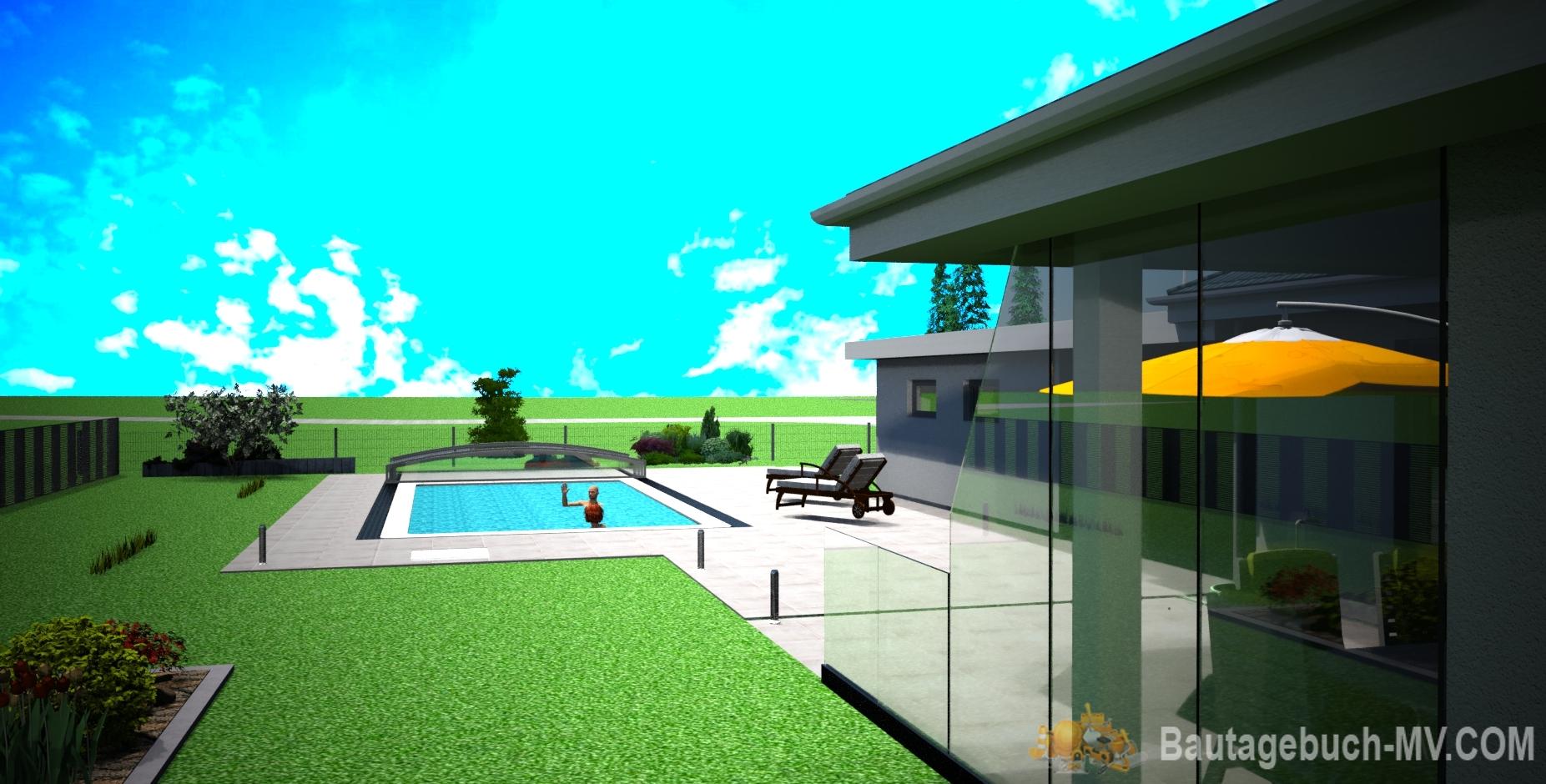 Pool Bau - Pläne 2020